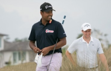Golfer Lahiri finishes tied 28th at CareerBuilder Challenge