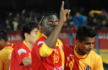 Ranti Martins seals it for East Bengal in a game of long balls and misses against DSK Shivajians