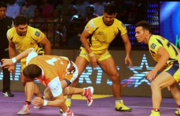Telugu Titans blow Dabang Delhi out of the Vizag waters with a dominating 11 point win