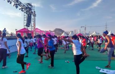 Pinkathon 2016 held in Bangalore