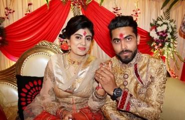 Cricketer Jadeja gets engaged, says 'dream come true'