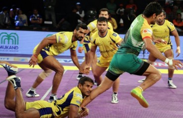 Pradeep Narwal gave Patna Pirates a deserving 29-25 win over Telugu Titans
