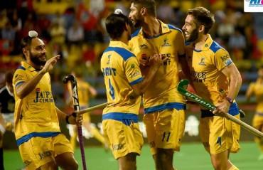 Punjab Warriors beat Dabang Mumbai 5-1, go atop table in HIL encounter