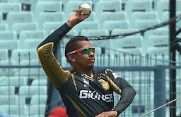 Kolkata Knight Riders back embattled spinner Narine