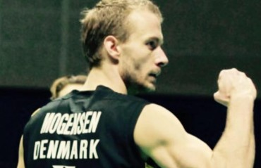 Dane shuttler Carsten Mogensen stable after undergoing brain surgery