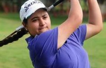 Amandeep grabs lead in sixth leg of women's golf Tour