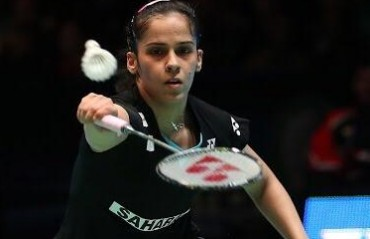 Saina enters quarters, the only Indian shuttler left at the All England SSP