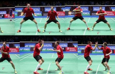 WATCH: Ivanov/Sozonov, first Russians to clinch the All England title, do a Haka on court!