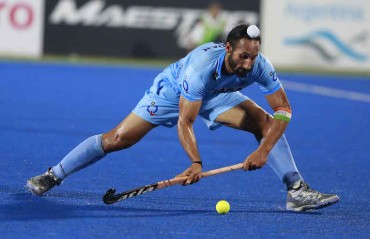 Need to create more striking opportunities, says Sardar Singh