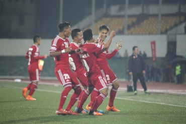 Lajong turn the table on Aizawl FC in a spirited 3-1 NE Derby triumph thanks to Fabio's brace