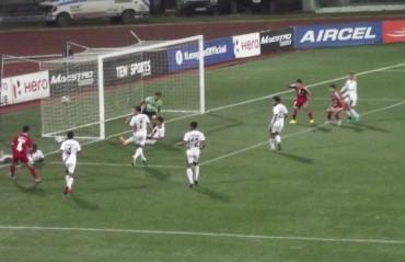 Uilliams makes it rain for Lajong: last minute goal seals draw, sinks Bagan's title hopes