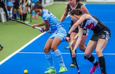 India beat Canada to earn their first win at Hawke's Bay Cup