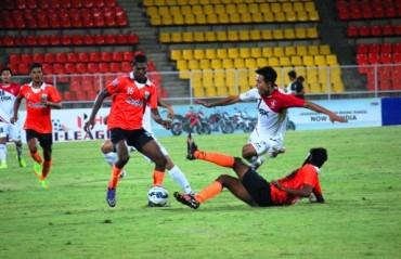 Sumit Passi fires a brace as Sporting bury Lajong in a 5-2 fiery encounter at Fatorda