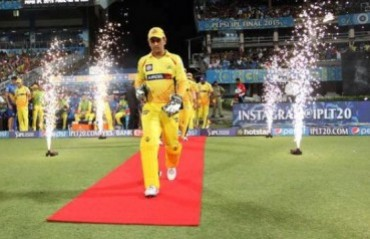 Emotional moment for Dhoni to play IPL without donning the yellow jersey