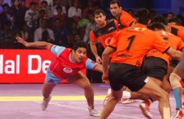 Jaipur Pink Panther halts U Mumba victory express