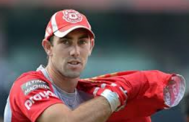 Glenn Maxwell cautioned for showing dissent