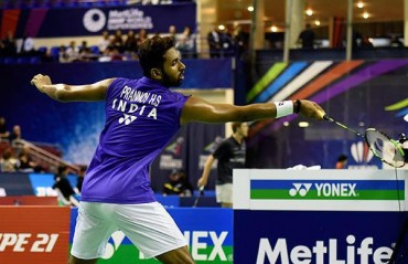 Prannoy, only shuttler in men's singles to enter the second round of China GPG