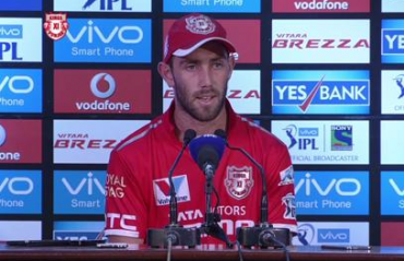 KXIP all-rounder Maxwell rues lost opportunties against MI at Mohali
