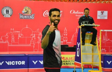 Prannoy feels he is in good shape and is confident of doing well at the upcoming events