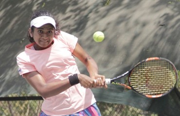 Yadlapalli in finals of the singles event, runners up in the doubles event of Asia Junior Championship