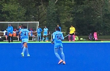 Indian Eves lose to Great Britain in a hard fought battle