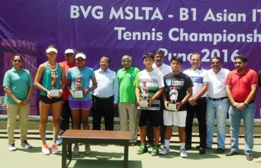 Yadlapalli settles for second place as she falters in the finals of ITF Asian Junior Tennis Championships