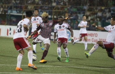 Mohun Bagan run down Lajong with dominant 5-0 win in the first leg of Federation Cup semis