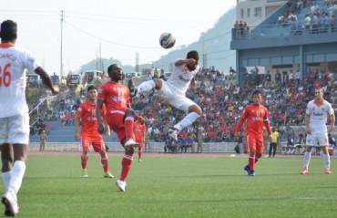 Aizawl FC held goalless, Sporting take slight advantage in first leg