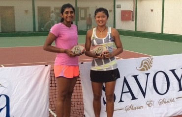 ITF Women's $ 10,000: Pranjala settles for runners-up title in doubles