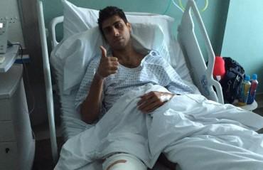 Ashish Nehra undergoes a successfull knee surgery in London