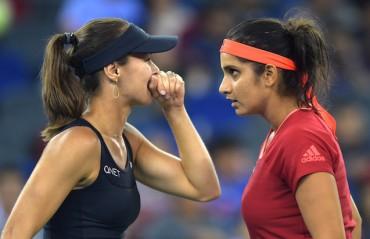 SanTina breeze through their Roland Garros opener by beating Panova/Kasatkina