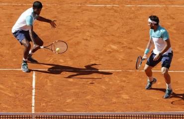 Bopanna/Mergea progress to R3 of men's doubles event in Paris