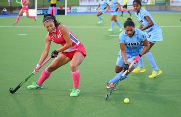Resolute Indian Eves play out 1-1 draw against Japan at the 4 Nations tournament