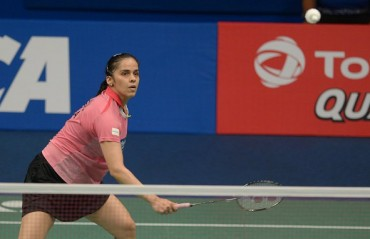Saina misses out on fourth Indonesia SSP title losing to Carolina Marin in quarters