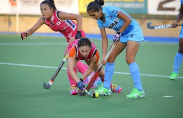 Indian eves lose 2-1 to Japan in Bronze medal play off