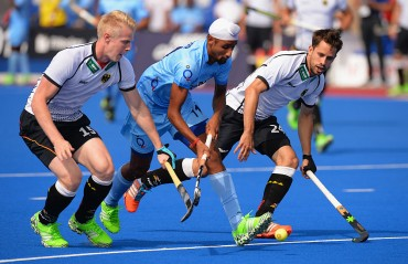 India hold Germany to a thrilling 3-3 draw in Champions Trophy opener