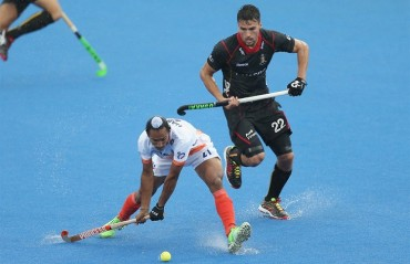 India lose close encounter to Belgium in Champions Trophy