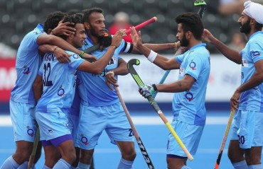 Thimmaiah strikes at the end as India beat Korea in the Champions Trophy