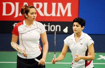Jwala-Ashwini advance in Badminton World Championships