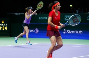 SanTina become the first pair to book their place in the year ending WTA finals