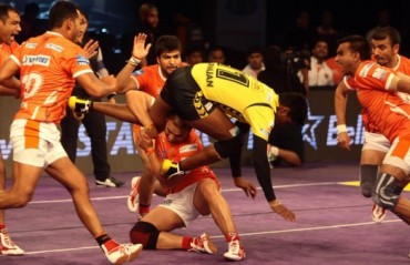 Manjeet Chillar has the last laugh, Puneri Paltan clinch a close win over Telugu Titans