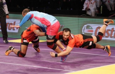 Steady all-round performance wins U-Mumba a close encounter with Jaipur Pink Panthers