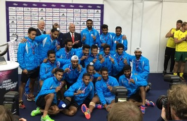 Indian Men's Team leap to Fifth position in FIH World Hockey Ranking