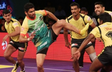 Bad homecoming for Telugu Titans as Patna Pirates steal the game with last-minute surge