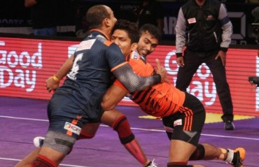 U Mumba bulldoze Bengal Warriors out of the mat and pick up a comfortable victory