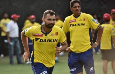 Mohammed Shami receives whopping Rs 2.2 crore from BCCI as IPL 2015 compensation fee