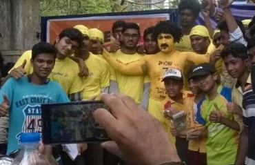 CSK fans bring the #SaveCSK petition all the way to Mumbai