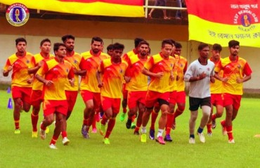 Back Early: East Bengal cut short residential camp due to bad weather and health issues
