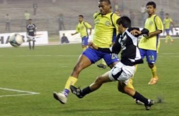 Mohammedan Sporting Club defeated Police AC 1-0 in a Calcutta Football League's Premier Division