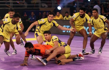 Telugu Titans beat U Mumba in their final league game